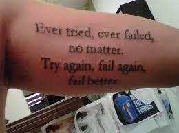 4 Fail better